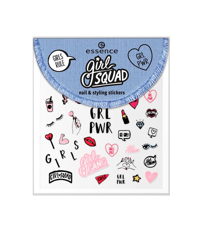 Essence Girl Squad Nagel Sticker 01 Forever Girl Gang
