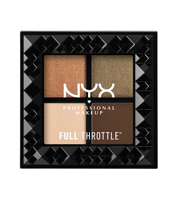 Kaufen Nyx Professional Makeup Full Throttle Eyeshadows Palette