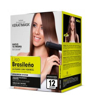 Be natural - Brazilian straightening kit ohne Formaldehyd