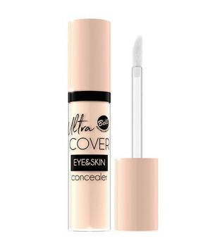 Bell - Ultra Cover Eye&Skin liquid Concealer - 003: Medium Beige