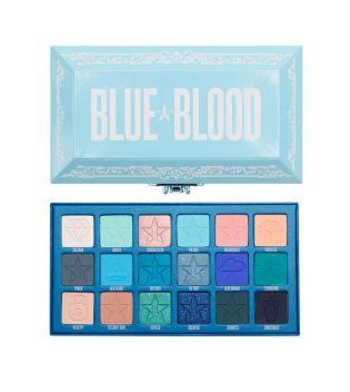Jeffree Star Cosmetics - *Blue Blood Collection* - Lidschatten Palette - Blue Blood