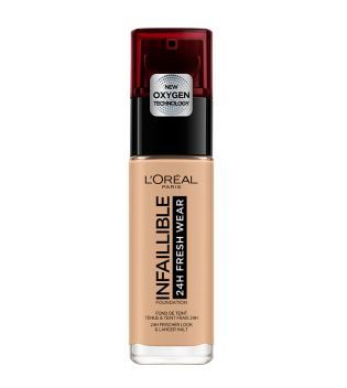 Loreal - Infiaillible 24h Fresh Wear Foundation - 140: Beige Doré