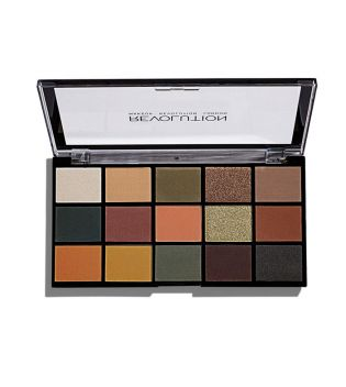 Makeup Revolution -  Re-loaded Lidschatten-Palette - Iconic Division