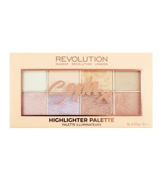 Makeup Revolution - Highlighter Palette  - Soph X