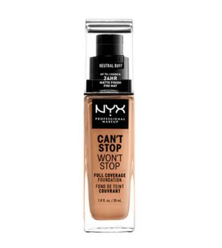 Nyx Professional Makeup - Can't Stop won't Stop Foundation - CSWSF10.3: Neutral buff