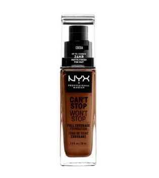 Nyx Professional Makeup - Can't Stop won't Stop Foundation - CSWSF21: Cocoa