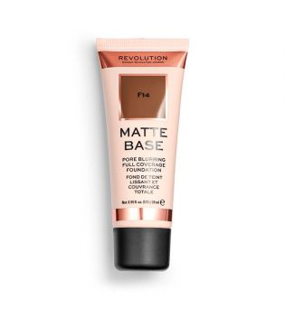 Revolution - Matte Base Foundation - F14