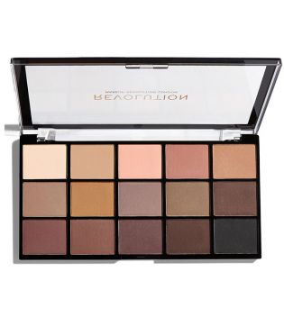 Revolution - Re-loaded Lidschatten Palette - Basic Mattes