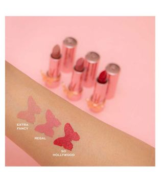 Revolution - *Precious Glamour* -  Lippenstift Butterfly - Extra Fancy