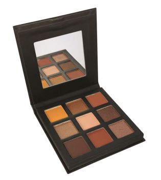 Technic Cosmetics - Pressed Pigments Lidschatten Palette - Enticing