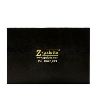 ZPalette - Empty customizable makeup palette with mirror  - Black